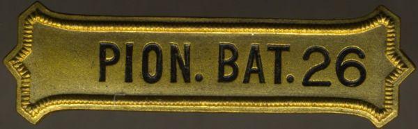 Bataillonskreuz-Spange des Pionier-Bataillons Nr. 26