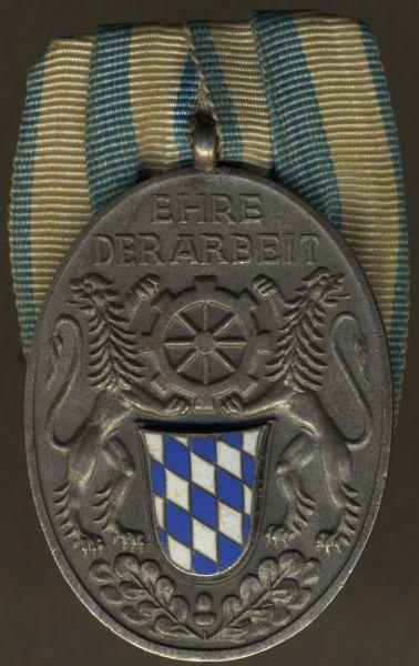 Silberne Medaille des Bayerischen Industriellen-Verbands