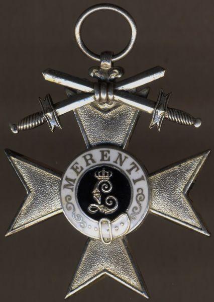 Bayern, Militär-Verdienstkreuz 2. Klasse mit Schwertern - Deschler & Sohn / München