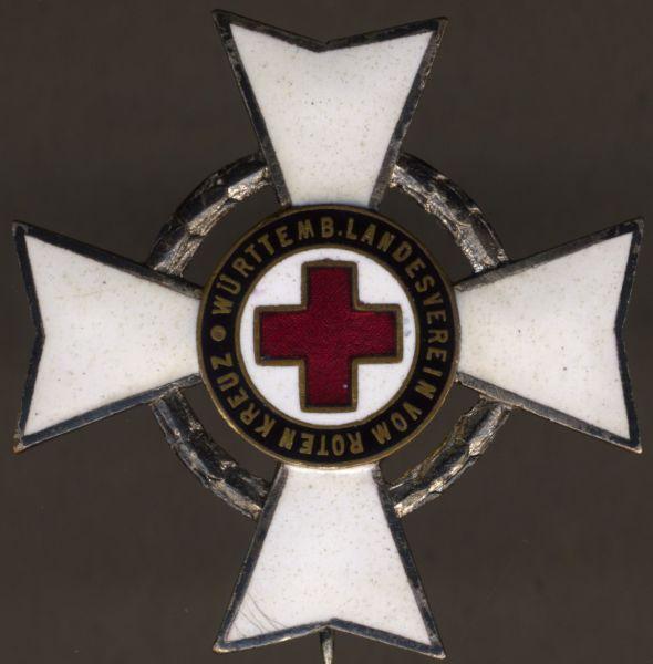 Württemberg, Ehrenzeichen des Rotes Kreuzes für 25 Jahre verdienstvolle Tätigkeit