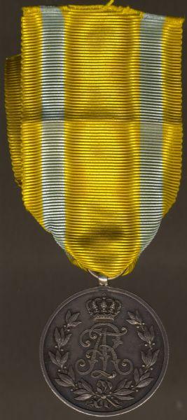 Sachsen, Friedrich August-Medaille in Silber