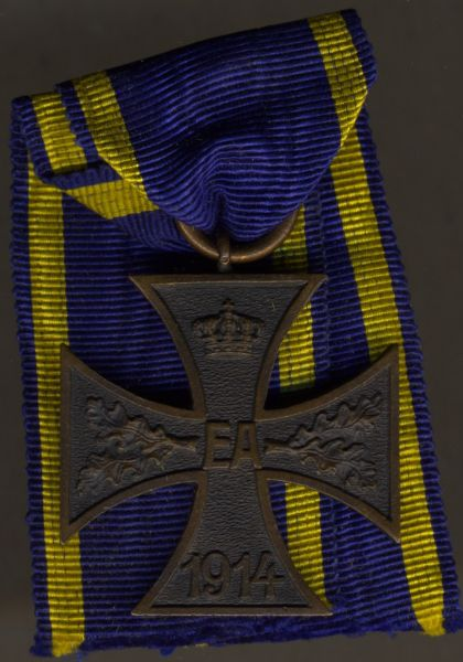 Braunschweig, Kriegsverdienstkreuz 2. Klasse