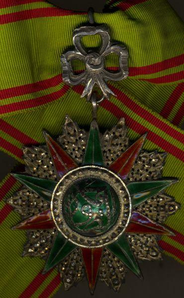 Tunesien, Orden des Ruhmes Komturdekoration (1859 - 1882)