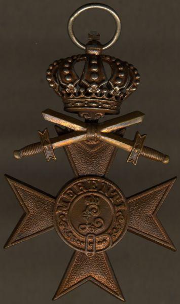 Bayern, Militär-Verdienstkreuz 3. mit Krone & Schwertern