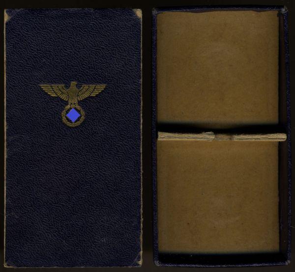 Schachtel zur NSDAP-Dienstauszeichnung 15 Jahre