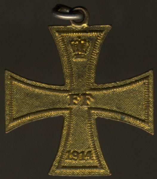 Miniatur - Mecklenburg-Schwerin, Kriegsverdienstkreuz 2. Klasse 1914