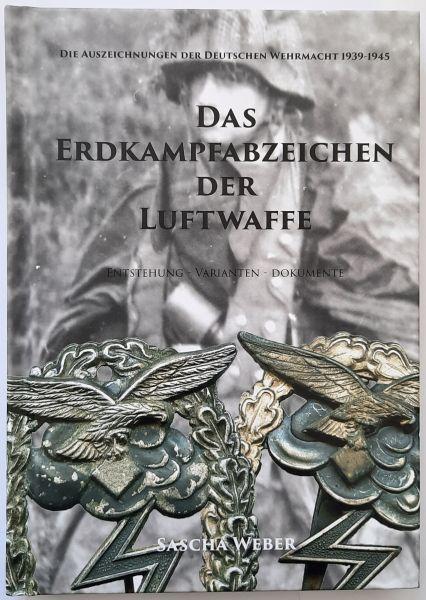 """Fachbuch """"Das Erdkampfabzeichen der Luftwaffe"""" / Sascha Weber"""