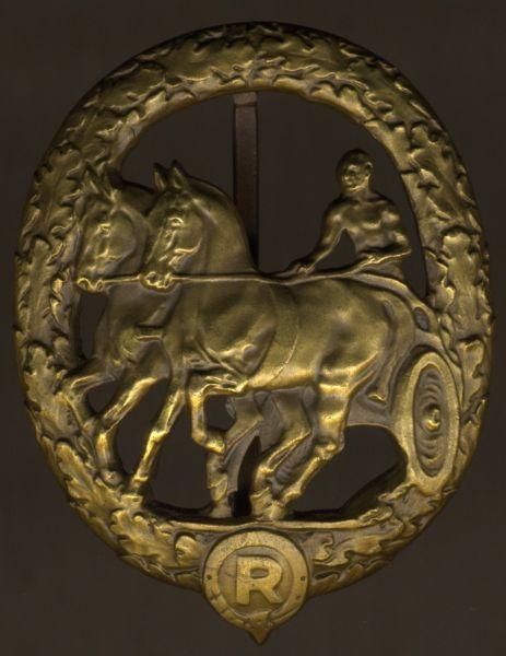 Deutsches Fahrerabzeichen in Bronze - Chr. Lauer / Nürnberg