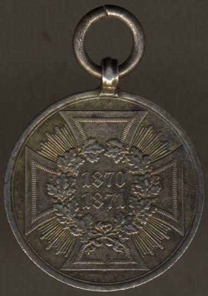 Preußen, Kriegsdenkmünze 1870/71 (Stahl)