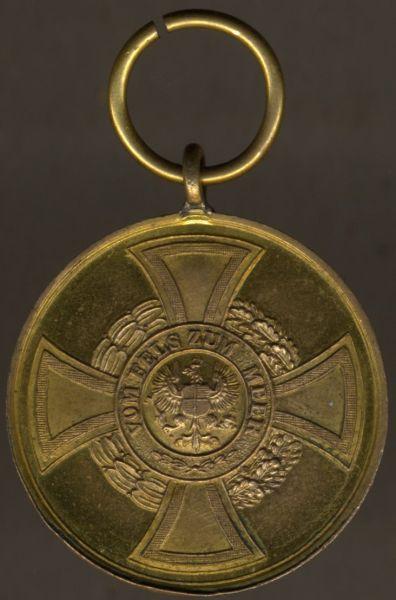 Preußen, Hohenzollernsche Kriegsdenkmünze 1848/49 für Kämpfer