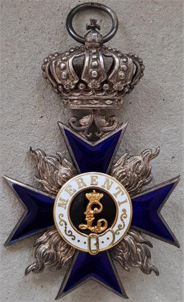 Bayern, Militär-Verdienstorden 4. Klasse mit Krone