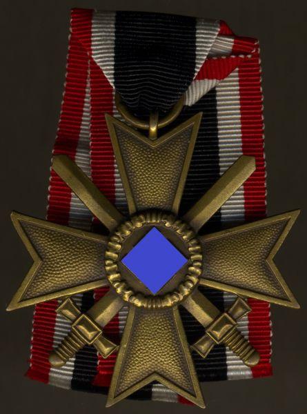 Kriegsverdienstkreuz 2. Klasse 1939 mit Schwertern - Roman Palme / Gablonz a.d. Neiße