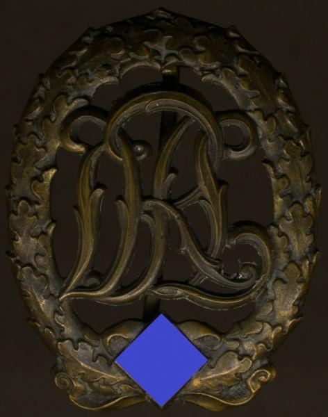 Reichssportabzeichen in Bronze