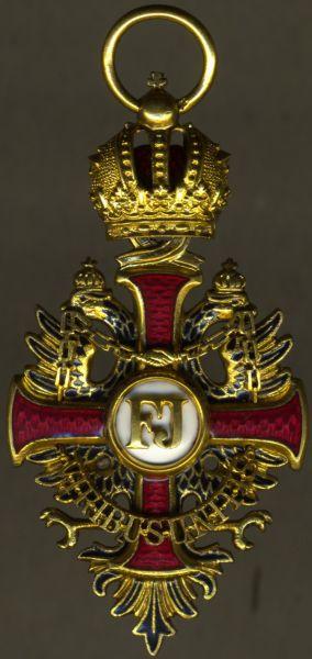 Österreich, Franz-Joseph-Orden Ritterkreuz