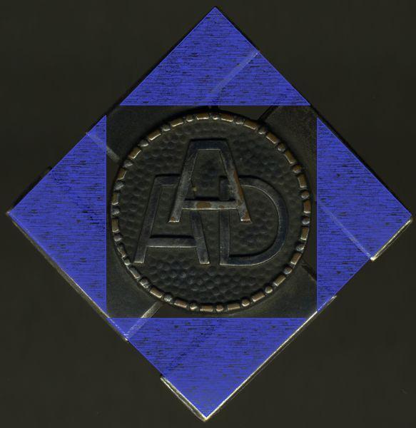 (Freistaat) Anhalt, Arbeitsdienst-Erinnerungszeichen in Silber (1. Modell)