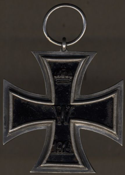 Eisernes Kreuz 2. Klasse 1914 - Klein & Quenzer / Oberstein a.d. Nahe