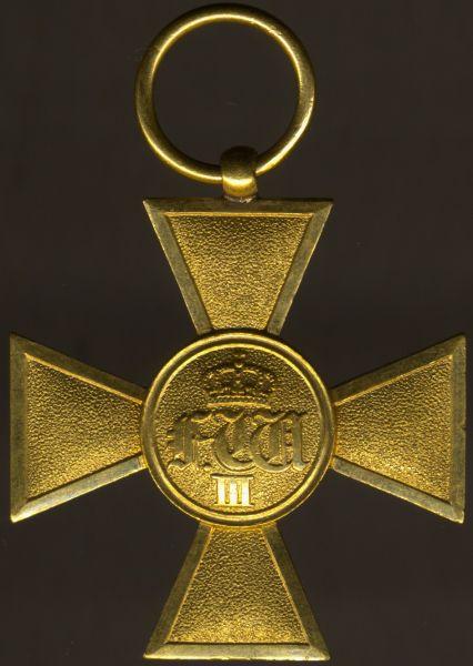 Preußen, Dienstauszeichnung (für Offiziere) 25 Jahre