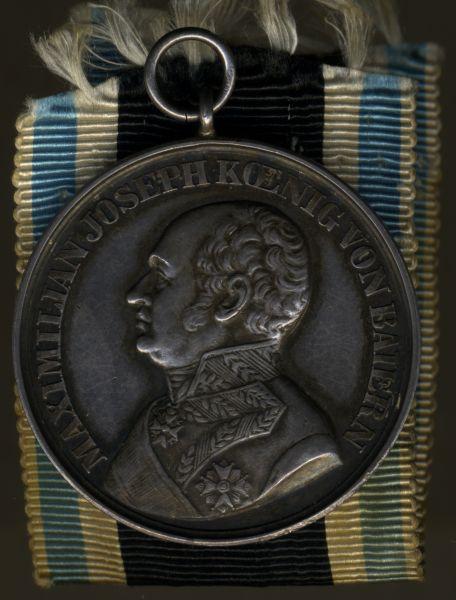 Bayern, Silberne Tapferkeitsmedaille (Militär-Verdienstmedaille)