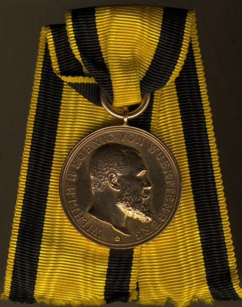 Württemberg, Goldene Militär-Verdienstmedaille