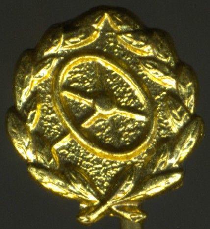 Miniatur - Kraftfahr-Bewährungsabzeichen in Gold