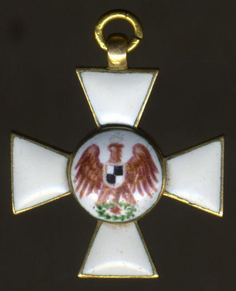 Miniatur - Roter-Adler-Orden - lila Adler