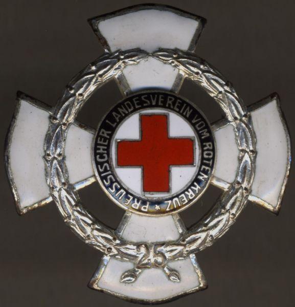 Preußen, Ehrenzeichen des Landesvereins vom Roten Kreuz für 25 Jahre - Godet / Berlin