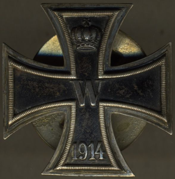 """Eisernes Kreuz 1. Klasse 1914 - Schraubscheibe - """"VICTORIA"""""""