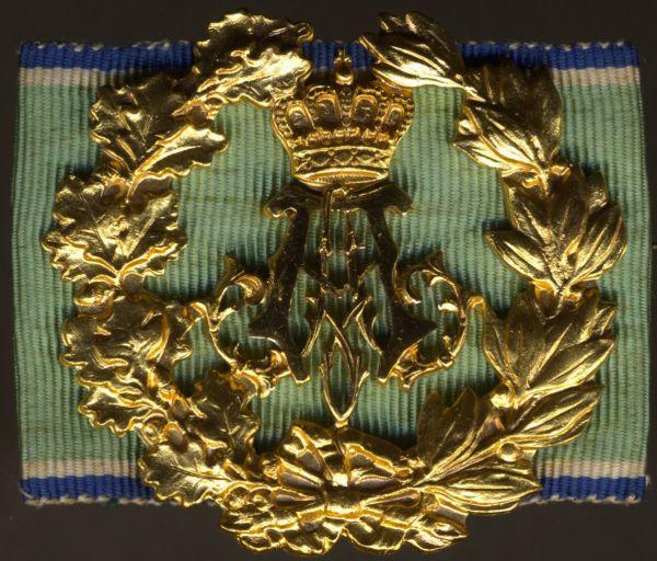 Prinz-Alfons-Erinnerungsabzeichen für Verdienste um das Schützenwesen - Prachtexemplar (!)