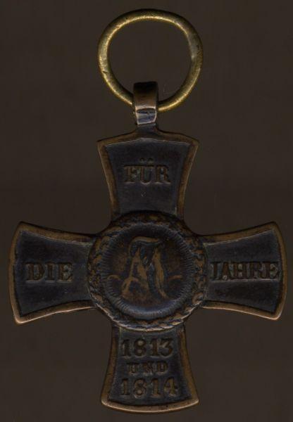 Bayern, Militär-Denkzeichen für 1813/14/15