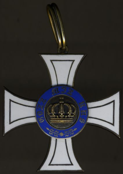 Preußen, Kronenorden 2. Klasse - Godet / Berlin - Silber vergoldet (!)