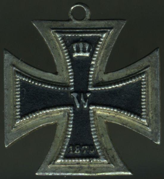 Miniatur - Eisernes Kreuz 2. Klasse 1870