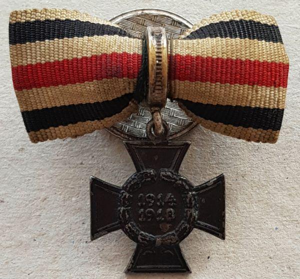 Miniaturdekoration - Ehrenkreuz für Witwen und Eltern