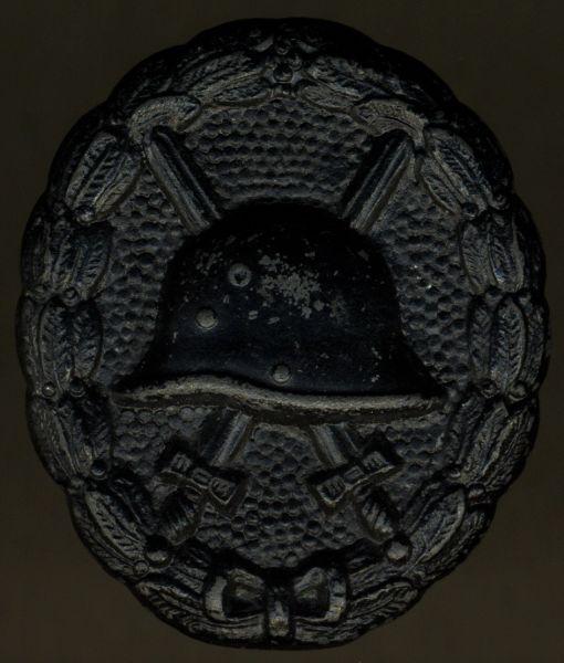 Verwundetenabzeichen 1918 in Schwarz