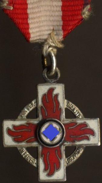 """Miniatur - Reichsfeuerwehr-Ehrenzeichen 2. Klasse - """"L/11"""" (!)"""