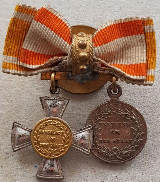 2er Miniaturdekoration AEZ Preußen