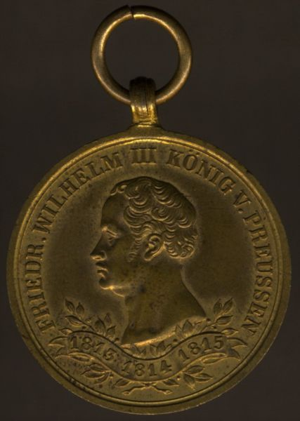 Preußen, Erinnerungs-Kriegsdenkmünze für die Kämpfer von 1813–1815