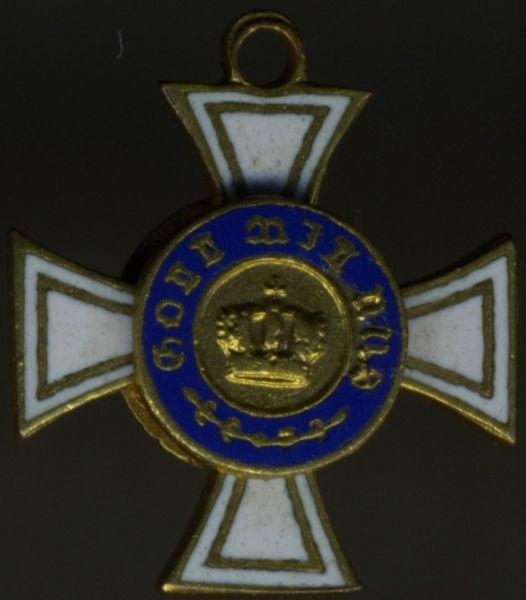 Miniatur - Preußen, Kronenorden 3. Klasse