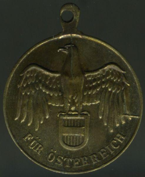 Miniatur - Österreich, Weltkriegs-Erinnerungsmedaille