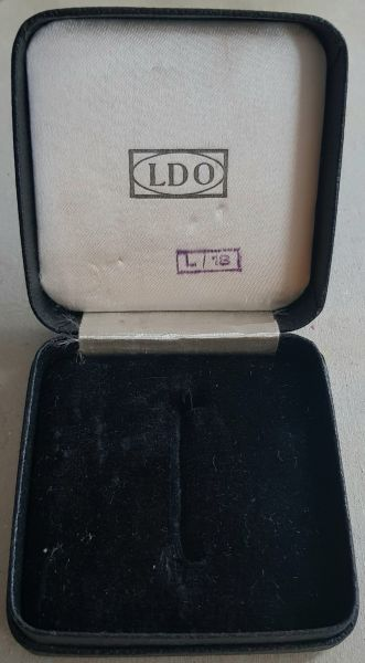 "LDO-Etui zum Eisernen Kreuz 1. Klasse 1939 - ""L/18"""