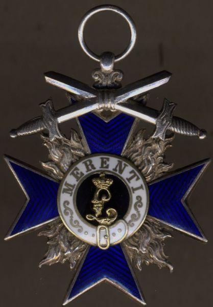 Bayern, Militär-Verdienstorden 4. Klasse mit Schwertern - Gebr. Hemmerle / München