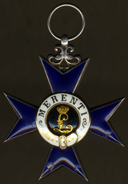 Bayern, Militär-Verdienstkreuz (1. Modell) - Eduard Quellhorst / München