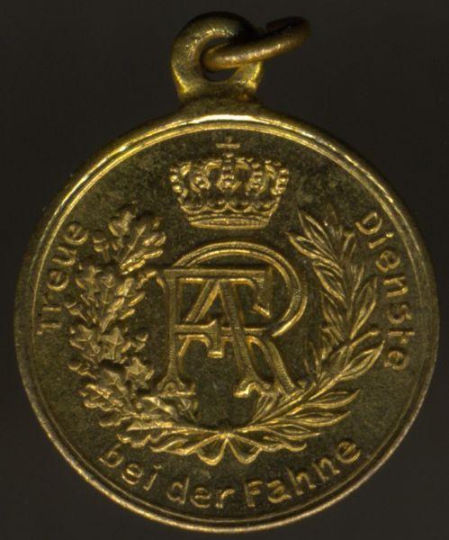 Miniatur - Sachsen, Dienstauszeichnung 2. Klasse