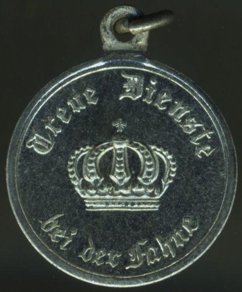 Miniatur - Preußen, Dienstauszeichnung 2. Klasse
