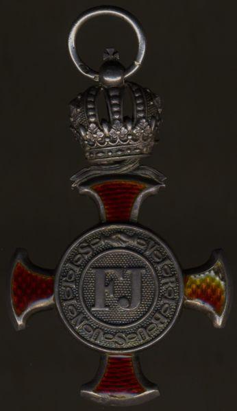 Österreich, Silbernes Verdienstkreuz mit Krone