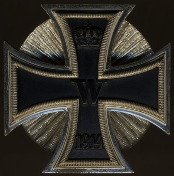 Eisernes Kreuz 1. Klasse 1914 - Deumer - Schraubscheibe - Prachtexemplar (!)