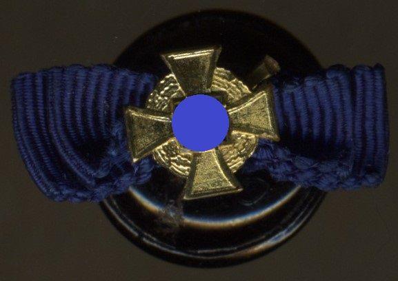 Knopflochdekoration - Treudienst-Ehrenzeichen 40 Jahre