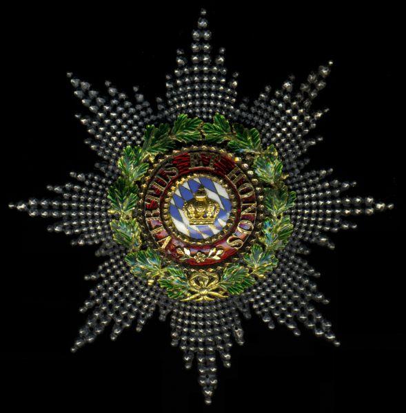 Bayern, Zivilverdienstorden der Bayerischen Krone Großkomtur-Stern - Eduard Quellhorst / München