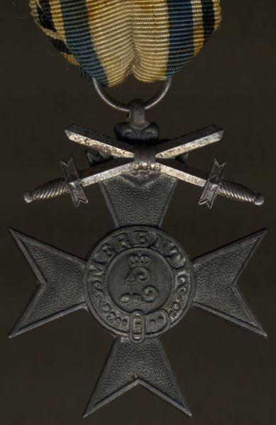 Bayern, Militär-Verdienstkreuz 3. Klasse mit Schwertern (Kriegsmetall)