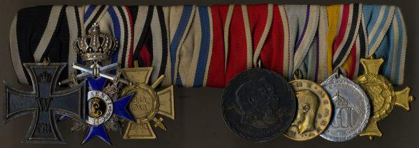 9er Ordensschnalle des Oberstleutnants Walter von Lossow