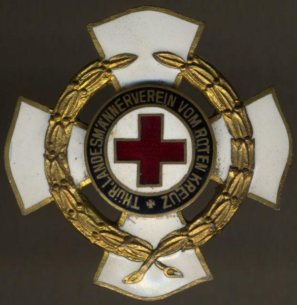 Thüringen, Ehrenzeichen des Landesmännervereins vom Roten Kreuz 3. Stufe (40 Jahre)